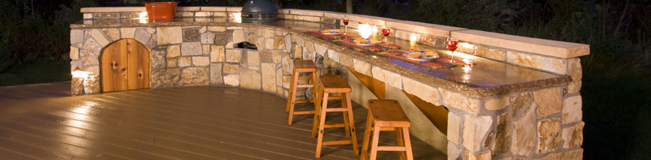 Outdoor Kitchen designs at On Fire